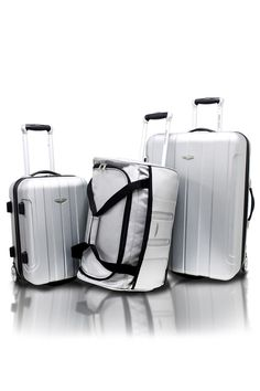 f00b25be8 3 Piece: Hardshell Lightweight Luggage Set by Travel Select Crossing
