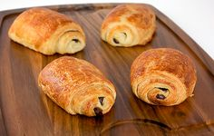 Pain au chocolat - how to make croissants, pastry dough recipe, french pastries recipes. Process is NOT for the faint of heart.