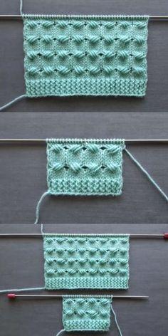Cross-ties knitting pattern women's vest and baby blanket samples - Crochet Baby Knitting Patterns, Knitting Stiches, Knitting Videos, Easy Knitting, Crochet Blanket Patterns, Crochet Designs, Knitting Designs, Diy Crafts Knitting, Baby Girl Crochet Blanket