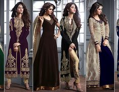 Gown Suit, Anarkali Gown, Western Dresses, New Work, Designer Dresses, Westerns, Product Launch, Behance, Gowns