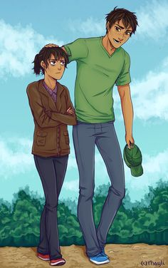 Heroes of Olympus - Percy Jackson x Nico di Angelo - Percico