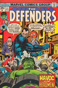 The Defenders - Webbed Hands, Warm Heart! released by Marvel on March Vintage Comic Books, Vintage Comics, Marvel Comic Books, Comic Books Art, Book Art, Defenders Comics, Superhero Groups, Sal Buscema, Old Comics