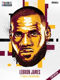 LeBron James #NBA #AllStars