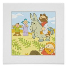 Palm Sunday - Christian Posters For Kids http://www.christianityposters.com/