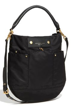 'Preppy Nylon Hillier' Hobo by Marc by Marc Jacobs, $248.00 /// Deciding if this should be my Christmas present to myself...