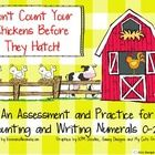 FREE! Don't Count Your Chickens Before They Hatch, A Counting and Numeral Writing Activity 0-20    This FREEBIE will allow you to assess your kindergarten ...