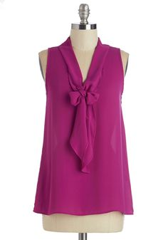 Work Top & Blazers - Strive to Thrive Top in Fuchsia
