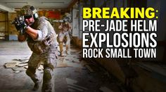 WTF?!? #JADEHELM Explosions came early for these poor folks... And they didn't even get a warning - http://youtu.be/Zj6VafODtdY