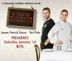 A Taste of Romance   -  The Hallmark Channel  ---------------  great family entertainment