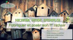 nichoirs Bird, Outdoor Decor, Circulation, Home Decor, Gardens, Infinite, Birdhouse Craft, Posing Tips