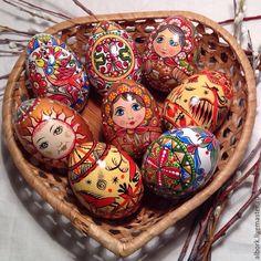Купить Расписное яйцо. Пасхальные яйца. Ручная роспись. Пасха. - Пасха, пасхальный сувенир