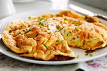 Smoked salmon and cream cheese omelette – Recipes – Slimming World