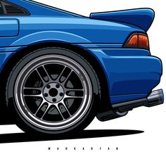 """Oleg Markaryan en Instagram: """"Toyota MR2. Close-Up. Especially for @prime_86_. Order illustration of your car! Write me in Direct Message or email. Contact in BIO. #63…"""""""