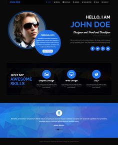 wix - an online resume ready to go live. customize by simply ... - Web Resume Examples