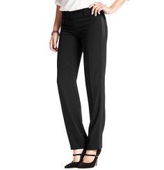 Marisa Straight Leg Crepe Tuxedo Pants | Loft