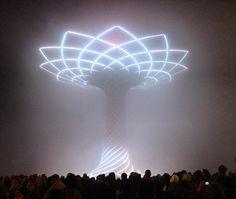 """""""La nebbia milanese si sta mangiando anche l'albero  #alberodellavita #expomilano2015"""" foto di Eleonora Messini"""