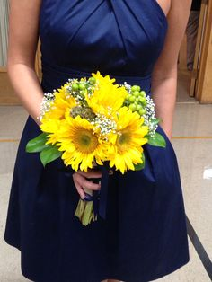 Sunflowers bouquet by Tattered Leaf Designs