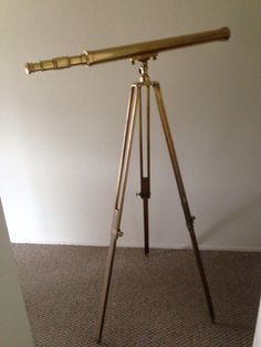 Ross London Brass Telescope