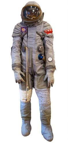 The suit from Sayluz, the Soviet Union's first space station programme #astronaut
