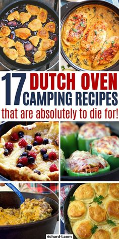 17 AMAZING dutch oven camping recipes you need to try on your next camping trip! These dutch oven recipes work perfectly for when you go camping! Fire Cooking, Oven Cooking, Cooking Recipes, Best Dutch Oven, Cast Iron Dutch Oven, Camping Menu, Camping Cooking, Camping Ideas, Camping Hacks