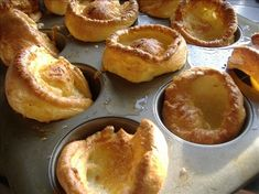 Yorkshire Pudding..making roast tonight, must have Yorkshire pudding too!