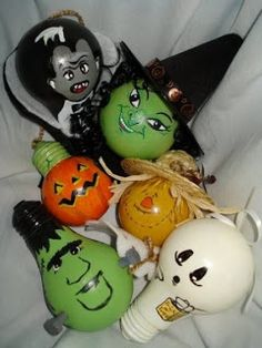 halloween ornaments to make - Google Search