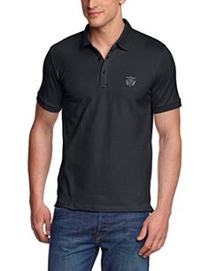 SELECTED HOMME Herren T-Shirt Aro ss embroidery polo s NOOS, Gr. X-Large (Herstellergröße: XL), Schwarz