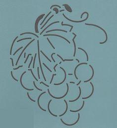 """Grape Cluster 6"""" - The Stencil Company"""