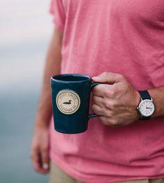 Handmade Coffee Mug Great Lakes, Safe Food, Coffee Mugs, Handmade, Cabin, Accessories, Hand Made, Coffee Cups, Cabins