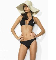 Ralph Lauren Heathered Ricky Bikini-Black  33.00 Bikini Noir, Polo Ralph  Lauren Outlet, 6f1d55c57041