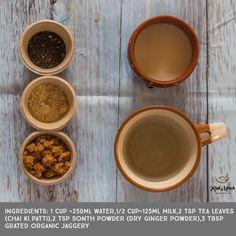 Gud Ki Chai recipe-Jaggery Tea recipe - Kali Mirch - by Smita Tea Recipes, Indian Food Recipes, Cooking Recipes, Healthy Recipes, Healthy Food, Jaggery Recipes, Navratri Recipes, Heritage Recipe, Kitchens