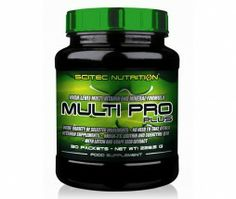 Scitec Multi Pro Plus - cel mai popular complex de multivitamine si minerale. Scitec Nutrition, Sports Nutrition, Best Multivitamin, Bodybuilding Supplements, Vitis Vinifera, Health Fitness, Health Vitamins, Athletes, Popular