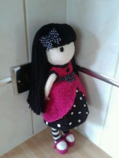 Amigurumi gorjuss ladybird doll :-) proud of this ibe no pattern