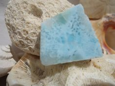 Larimar Slab #107 - Twin Flame, Soul Mate, Heart Healing, Atlantiean Stone by…