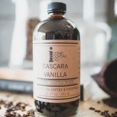 Recreate the Cold Foam Cascara Cold Brew – Iconic Cocktail Coffee Company, Coffee Shop, Cold Brew Coffee Recipe, Popular Drinks, Cocoa Nibs, Cherry Tart, Baileys, Food Packaging, Simple Syrup