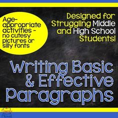 Designed for struggling middle and high school students - no prep, no fluff!  Clear, concise lessons and practice.