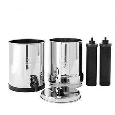 Travel Berkey Water Purification System Countertop Water Filter Water Filter Best Water Filter