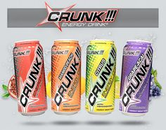 Crunk Energy Drink!!! Reminds me of Mississippi!:)