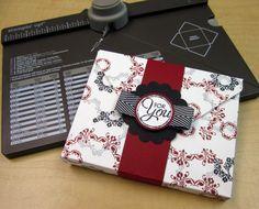 Envelope Punch Board Box
