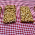 Peanut Butter Granola Bars (Vegan) - My Whole Food Life Pumpkin Recipes, Fall Recipes, Whole Food Recipes, Snack Recipes, Cooking Recipes, Ww Recipes, Healthy Sweets, Healthy Snacks, Kid Snacks