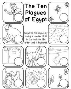 Ten Plagues Of Egypt Worksheet - The Ten Plagues Of Egypt Ordering Page Sunday School Kids The Ten Plagues Of Egypt Worksheet Pack Plagues Of Egypt Ten The Ten Plagues Of Egypt Worksh. Bible Story Crafts, Bible School Crafts, Bible Crafts For Kids, Preschool Bible, Bible Activities, Bible Stories, Moses Bible Crafts, Kids Bible, Sunday School Kids