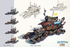 Jim Button - Character Group by *Shiramune Game Concept, Concept Cars, Jim Button, Illustrations, Illustration Art, Buildings Artwork, Character Group, Futuristic Cars, Mechanical Design