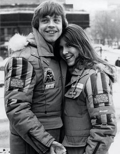 Mark Hamill, Carrie Fisher- EMPIRE.