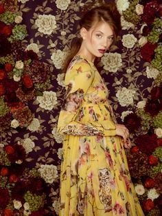 Dolce & Gabbana Fall 2014 in Harrods Magazine by Lara Jade