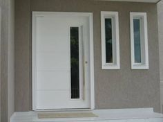 Casas com porta pivotante