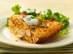 Impossibly Easy Chicken Taco Pie  Betty Crocker