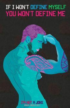 Art series breaks LGBTQ stereotypes with striking illustrations
