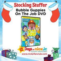 Stocking stuffer idea: a fin-tastic Bubble Guppies DVD!