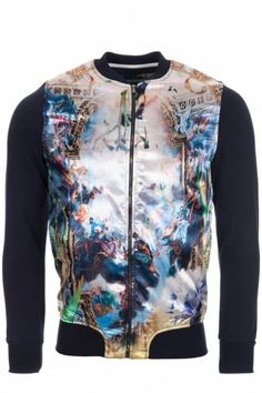 The Cuckoos Nest Magic Trip Bomber Jacket Multi-Colour