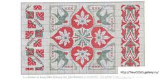 Biscornu Cross Stitch, Cross Stitch Art, Cross Stitch Borders, Cross Stitching, Cross Stitch Embroidery, Cross Stitch Patterns, Motifs Art Nouveau, Art Nouveau Pattern, Motif Vintage